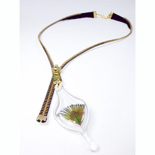 Collier zipper, Vanessa Yanow